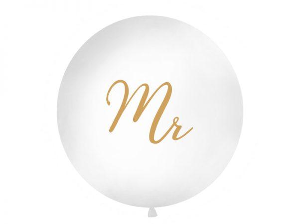 """Deko und Geschenke Shop Riesenballon 1 m """"Mr"""""""
