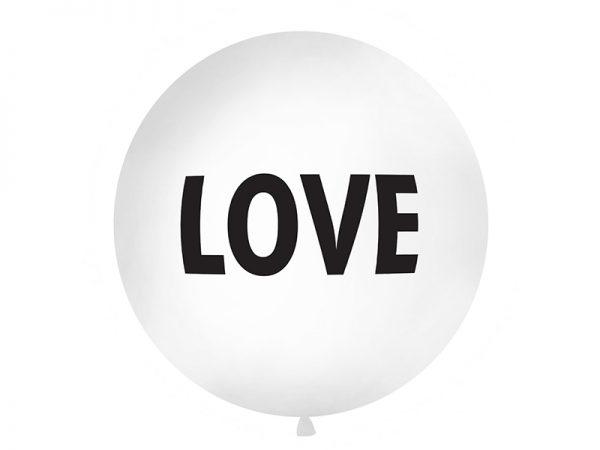 """Deko und Geschenke Shop Riesenballon 1 m """"LOVE"""""""