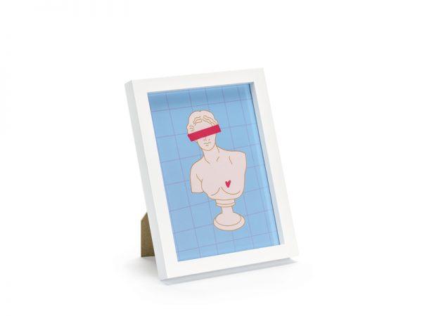 Deko und Geschenke Shop Fotorahmen Weiß 13x18 cm