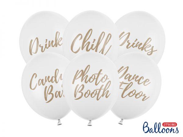 Deko und Geschenke Shop Ballons mit Aufschrift 30cm